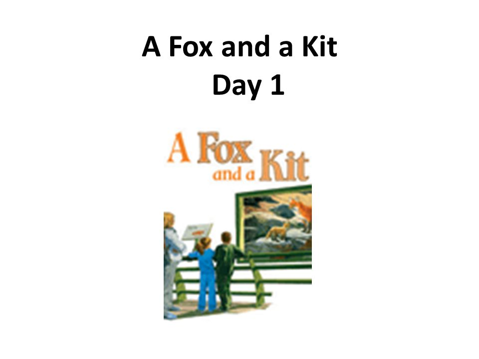 A Fox and a Kit Day 1