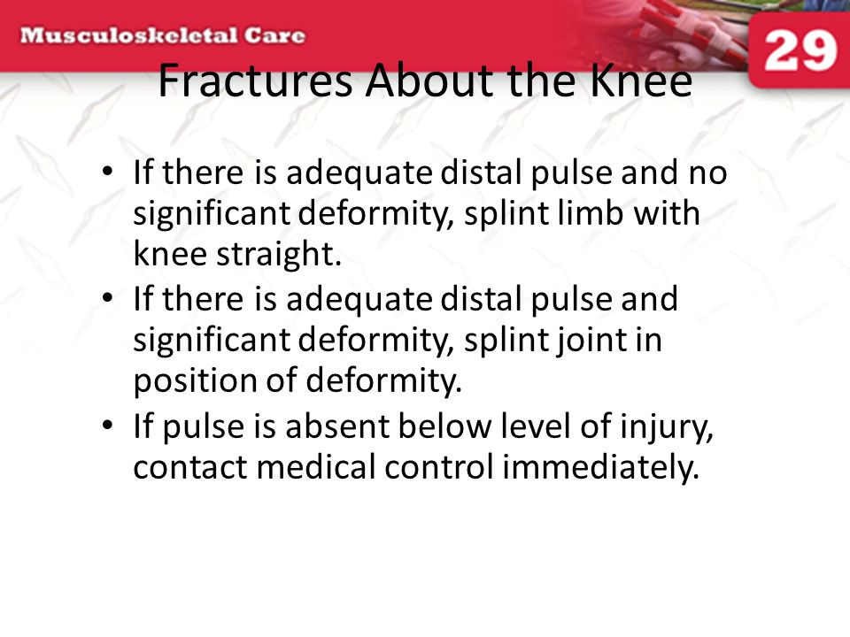 Fractures About the Knee