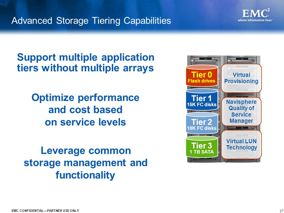 Advanced Storage Tiering Capabilities