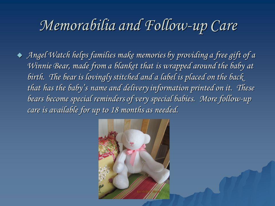 Memorabilia and Follow-up Care