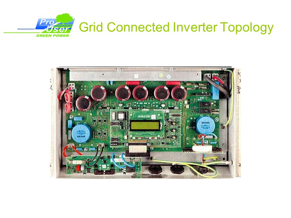 Grid Connected Inverter Topology