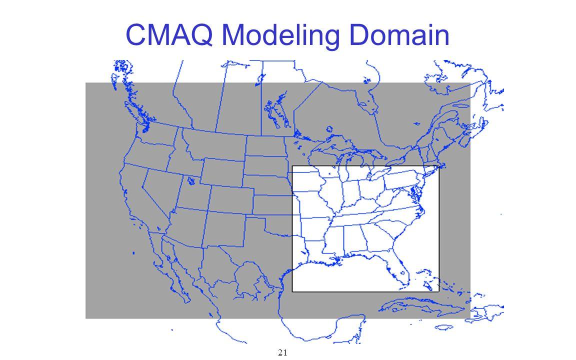 CMAQ Modeling Domain