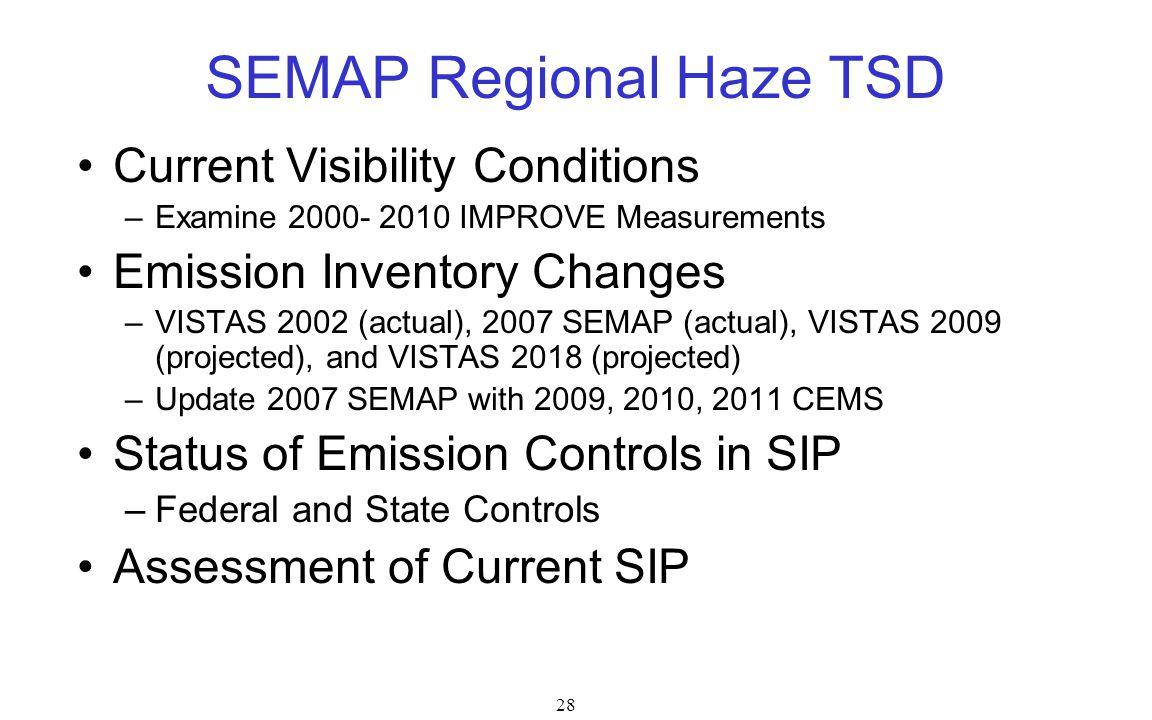 SEMAP Regional Haze TSD