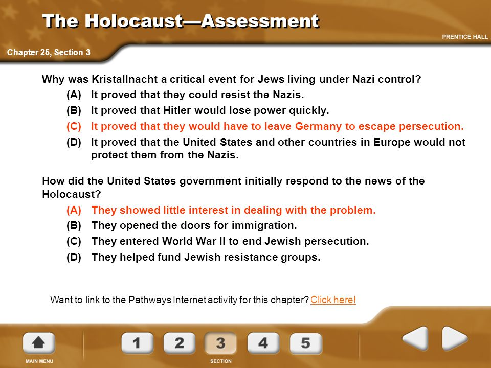 The Holocaust—Assessment