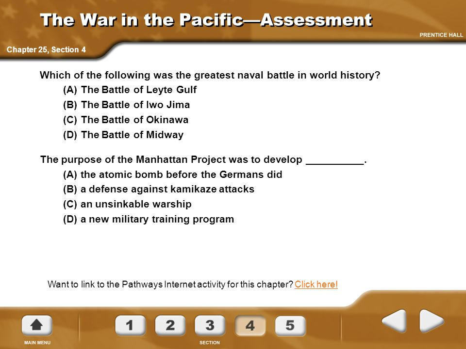 The War in the Pacific—Assessment