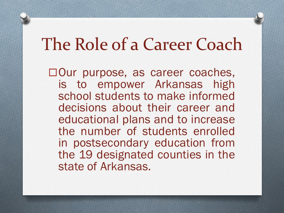 The Role of a Career Coach