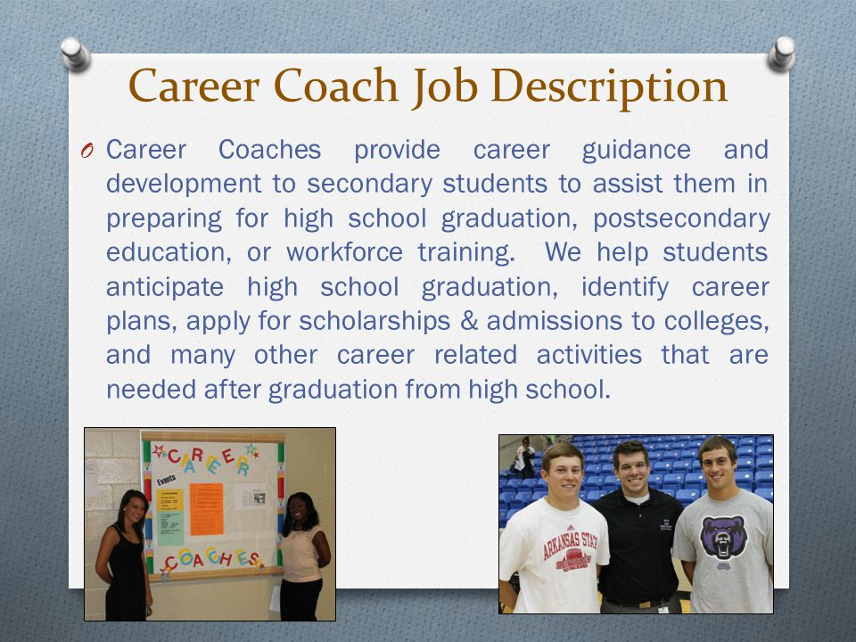 Career Coach Job Description