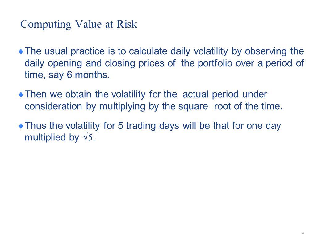 How Banks disclose VaR