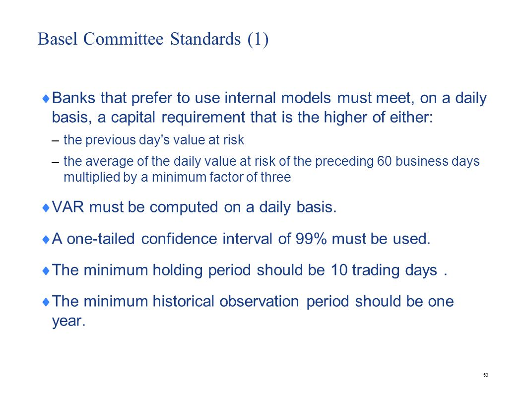 Basel Committee Standards(2)