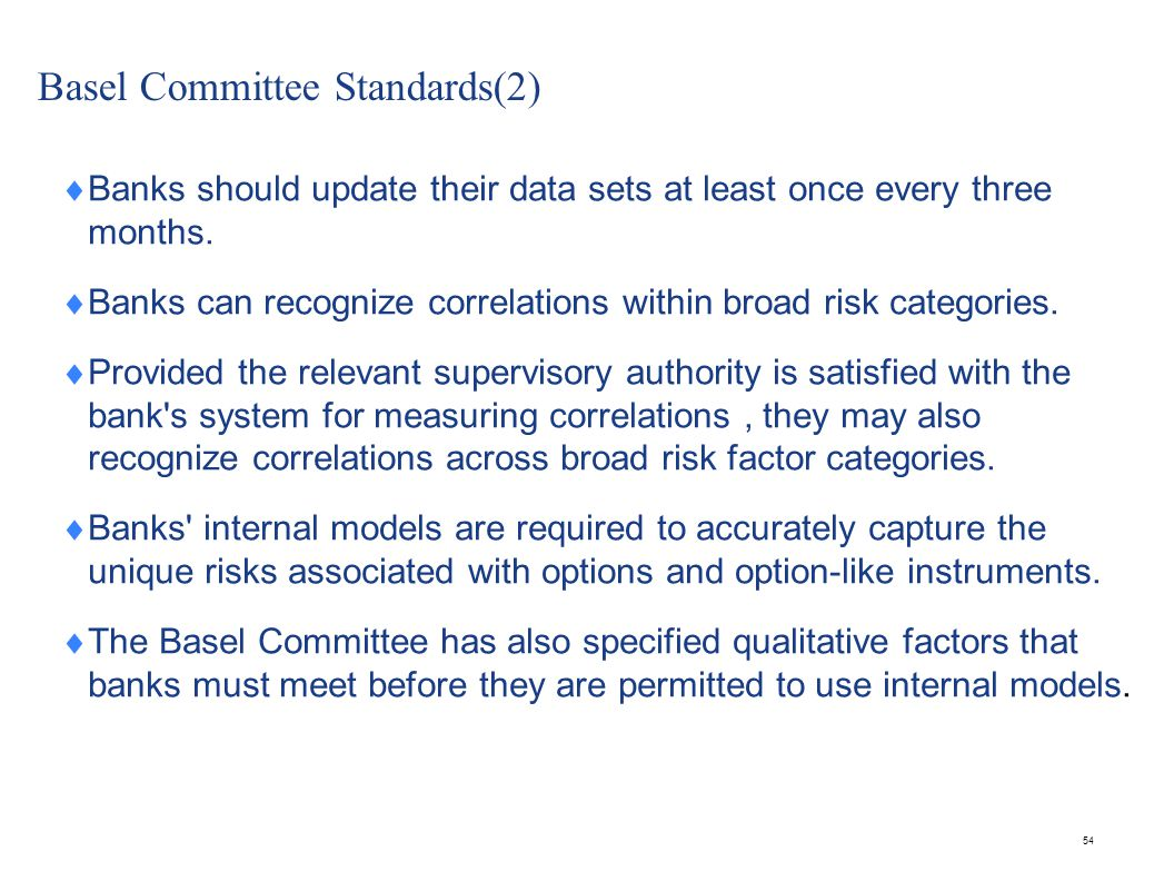 Basel Committee Standards(3)