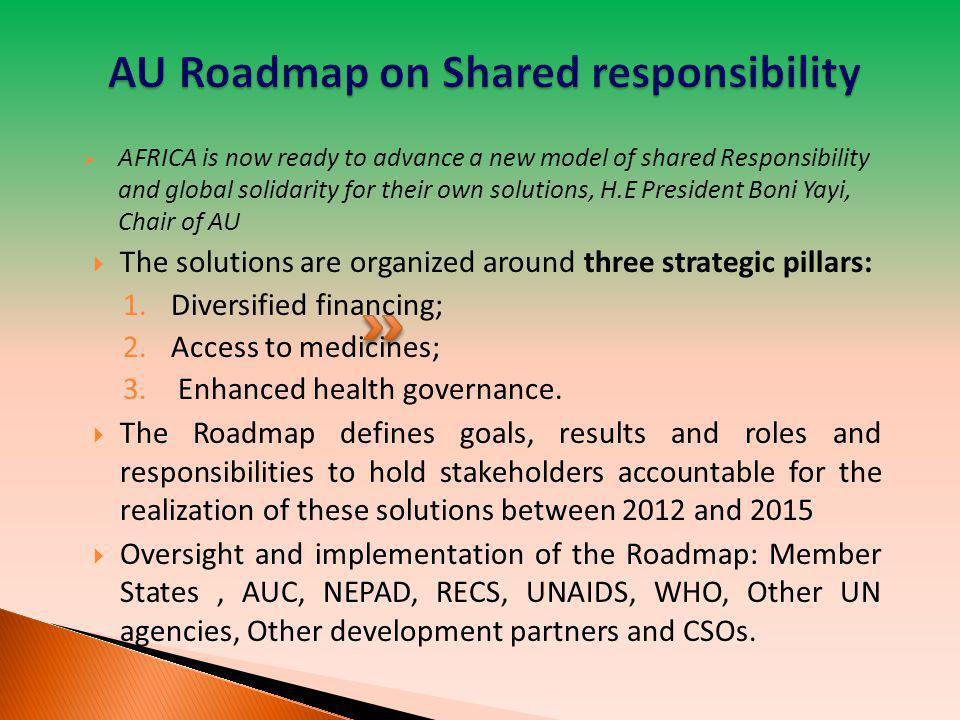 AU Roadmap on Shared responsibility