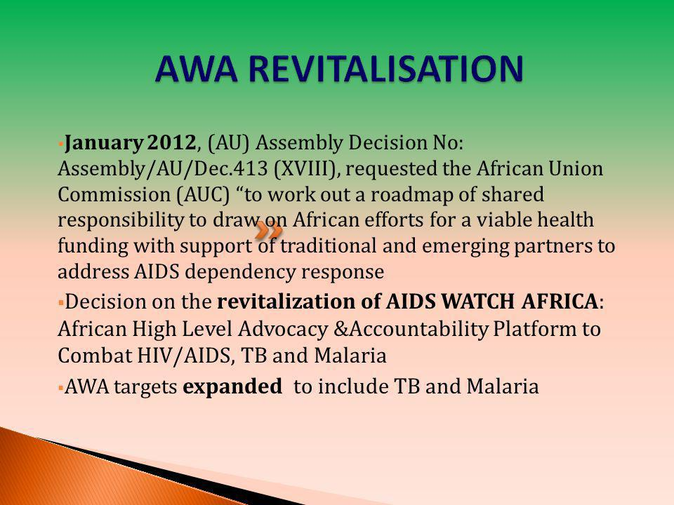 AWA REVITALISATION