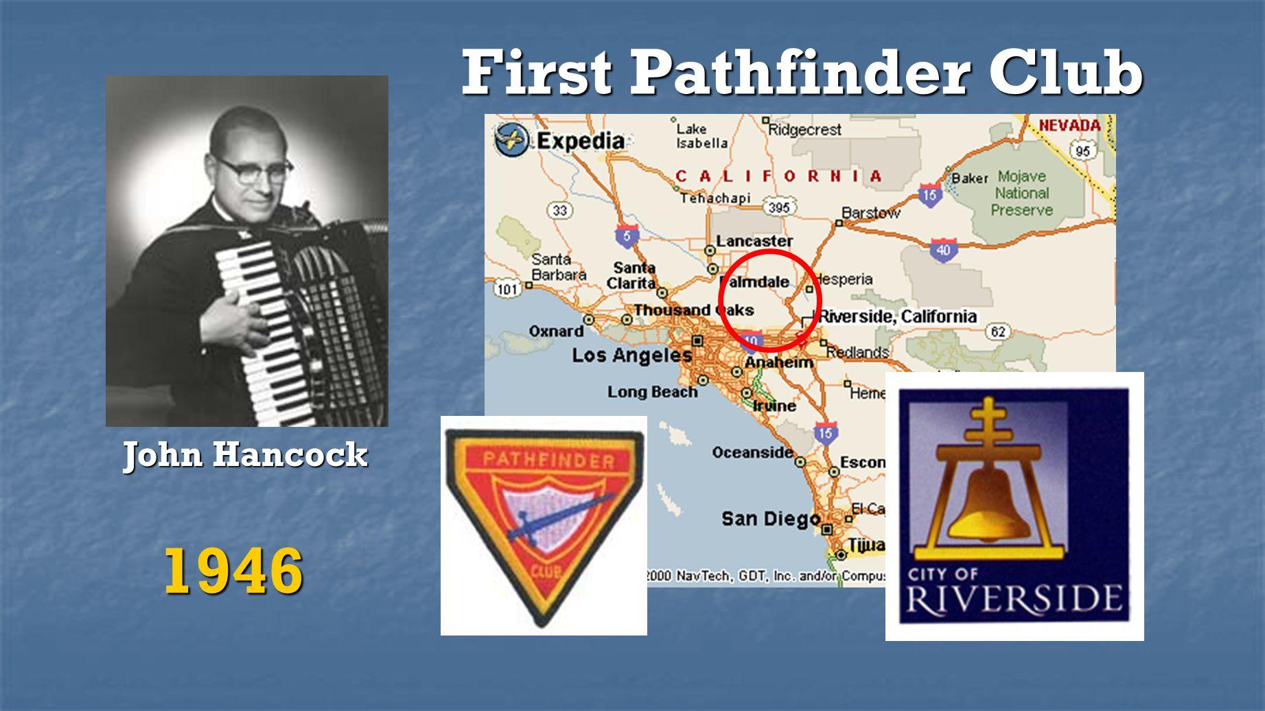 First Pathfinder Club John Hancock 1946