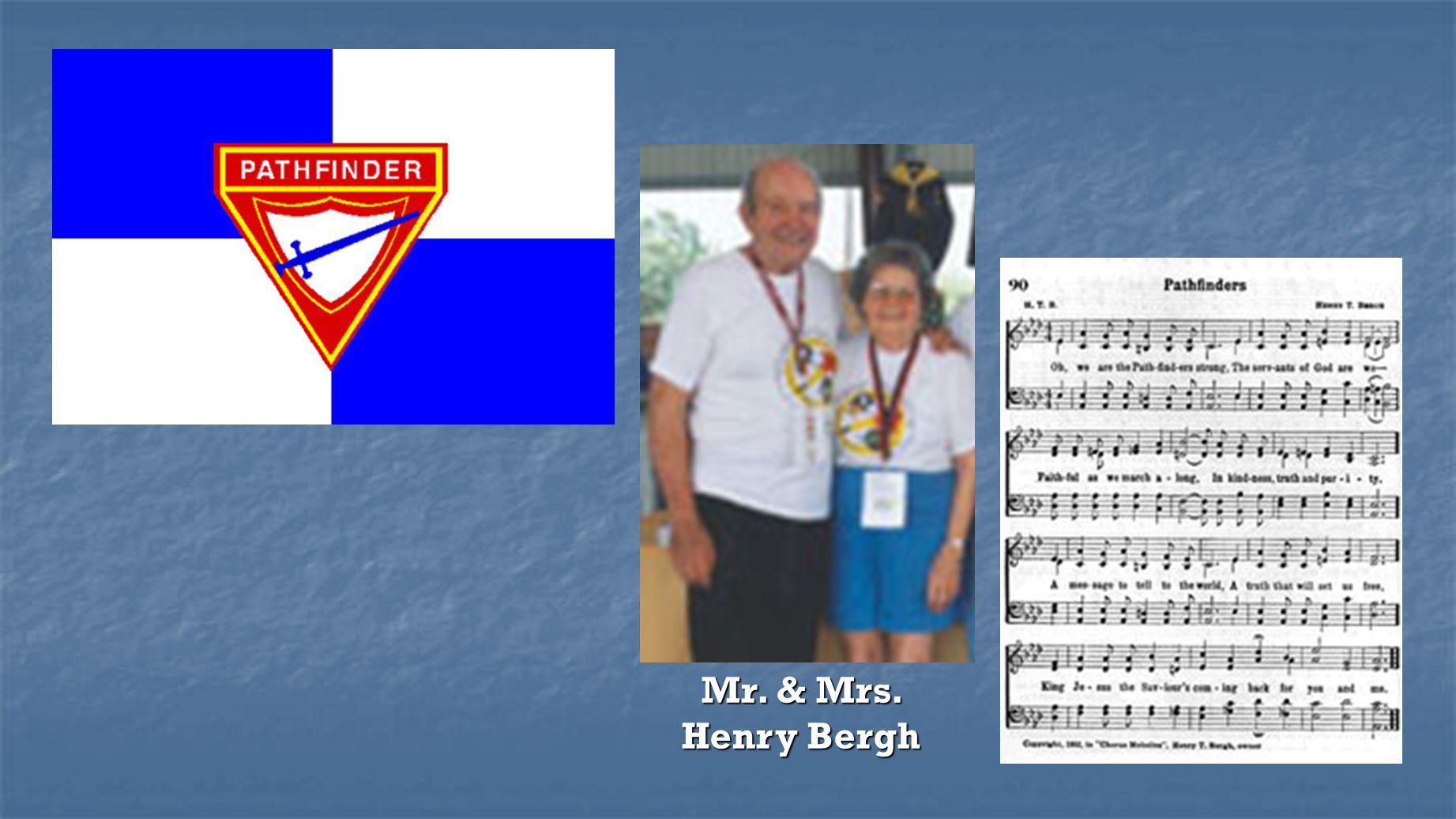 Mr. & Mrs. Henry Bergh