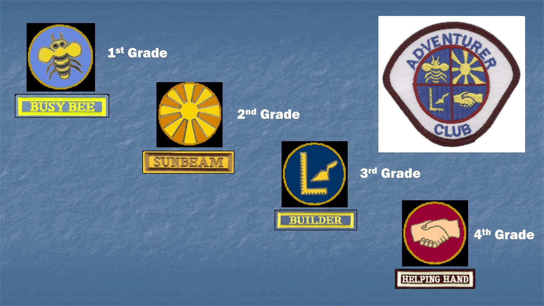 1st Grade 2nd Grade 3rd Grade 4th Grade