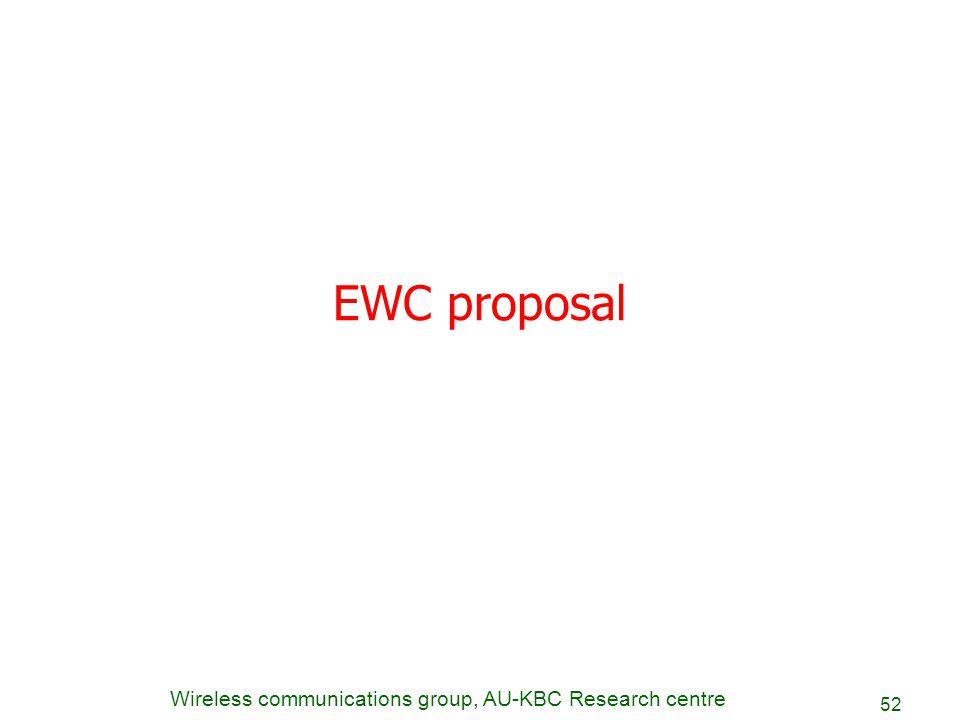 EWC proposal
