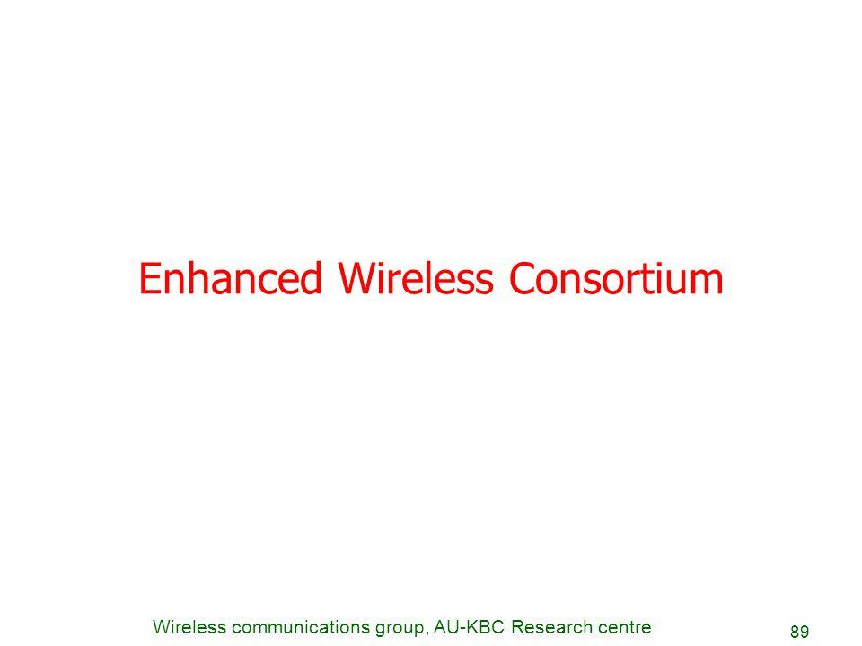 Enhanced Wireless Consortium