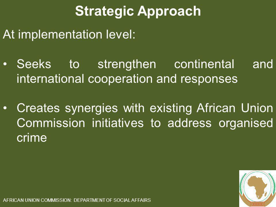 AFRICAN UNION COMMISSION: DEPARTMENT OF SOCIAL AFFAIRS