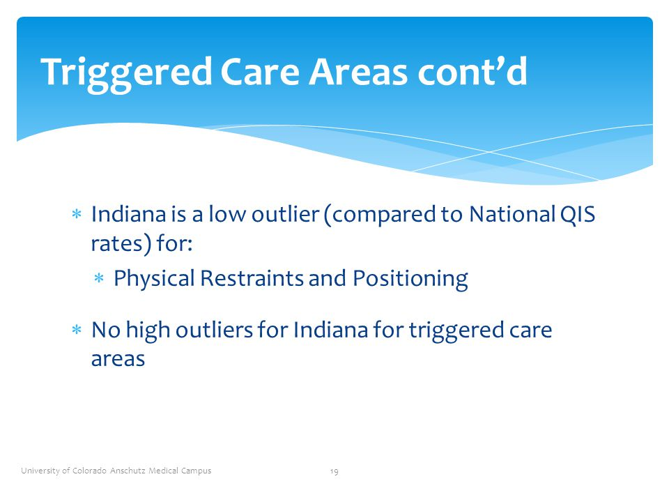 Triggered Care Areas cont'd