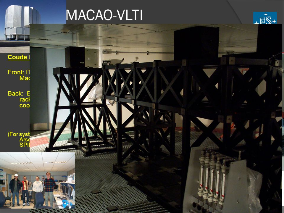 MACAO-VLTI System Description