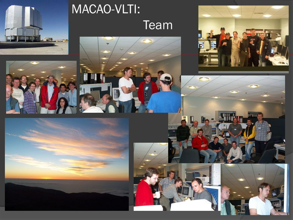 MACAO-VLTI: Team