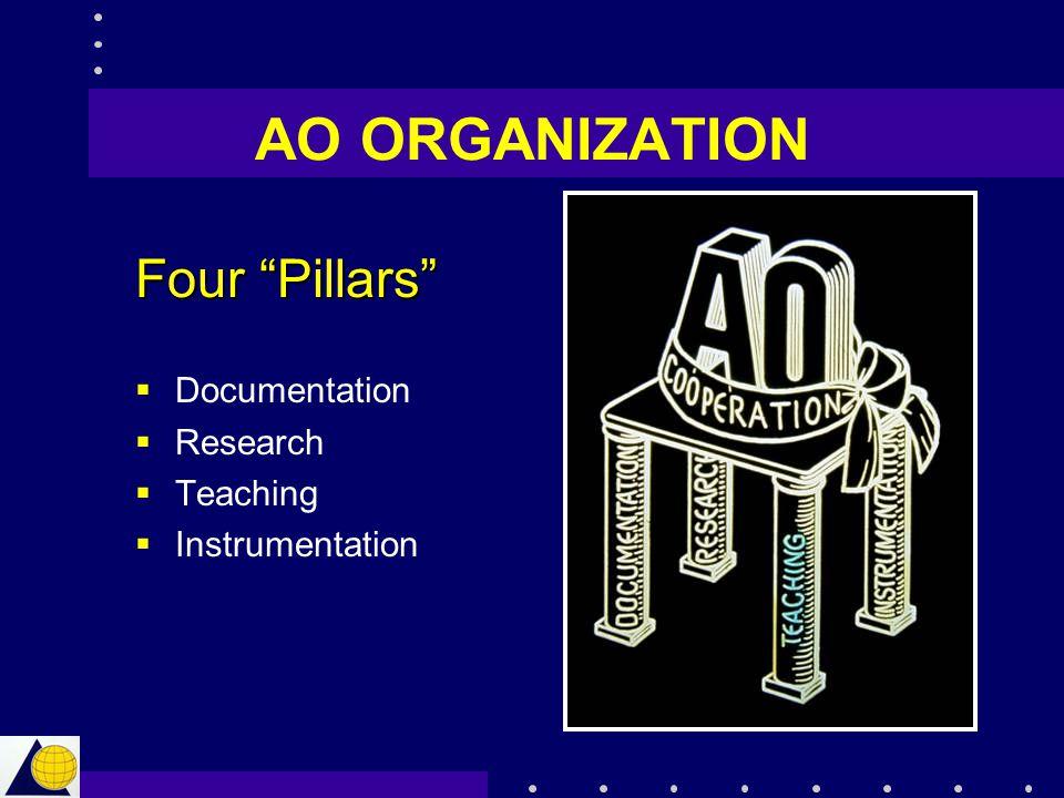AO ORGANIZATION Four Pillars Documentation Research Teaching
