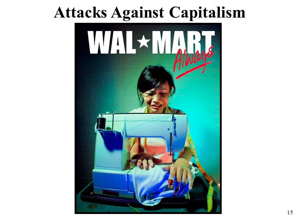 Attacks Against Capitalism