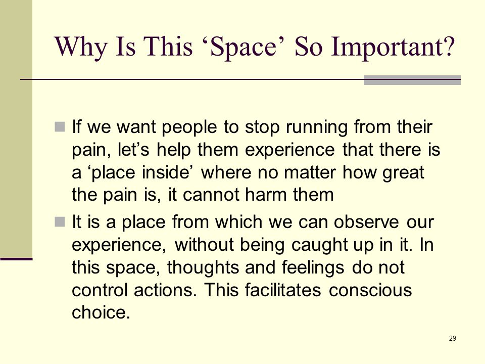 Why Is This 'Space' So Important