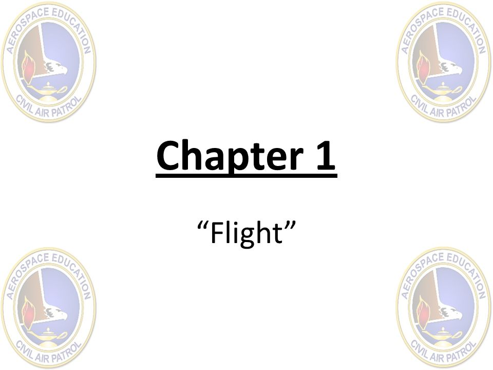Chapter 1 Flight
