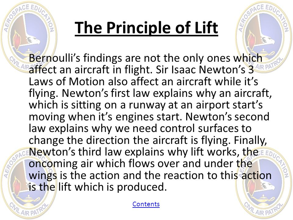 The Principle of Lift