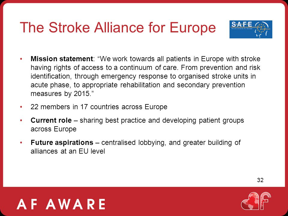 The Stroke Alliance for Europe