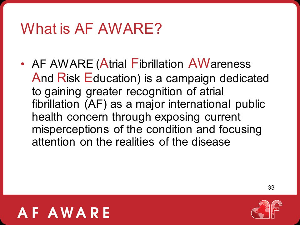 What is AF AWARE