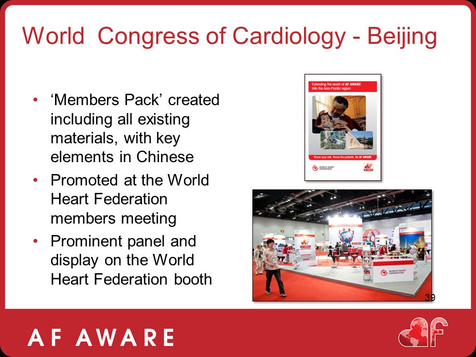 World Congress of Cardiology - Beijing