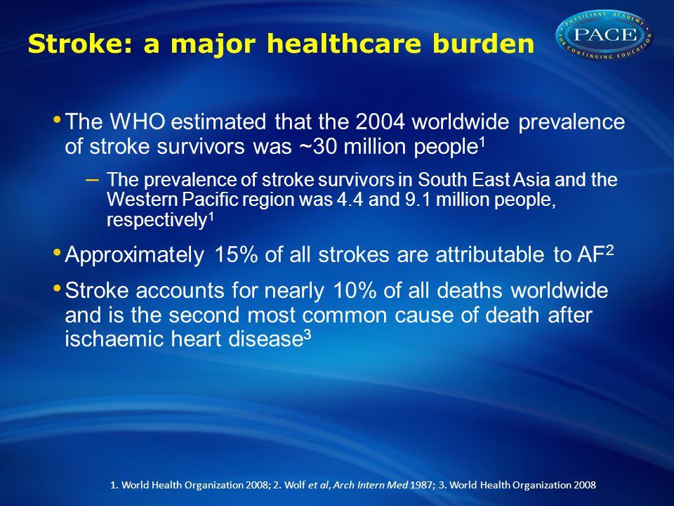 Stroke: a major healthcare burden
