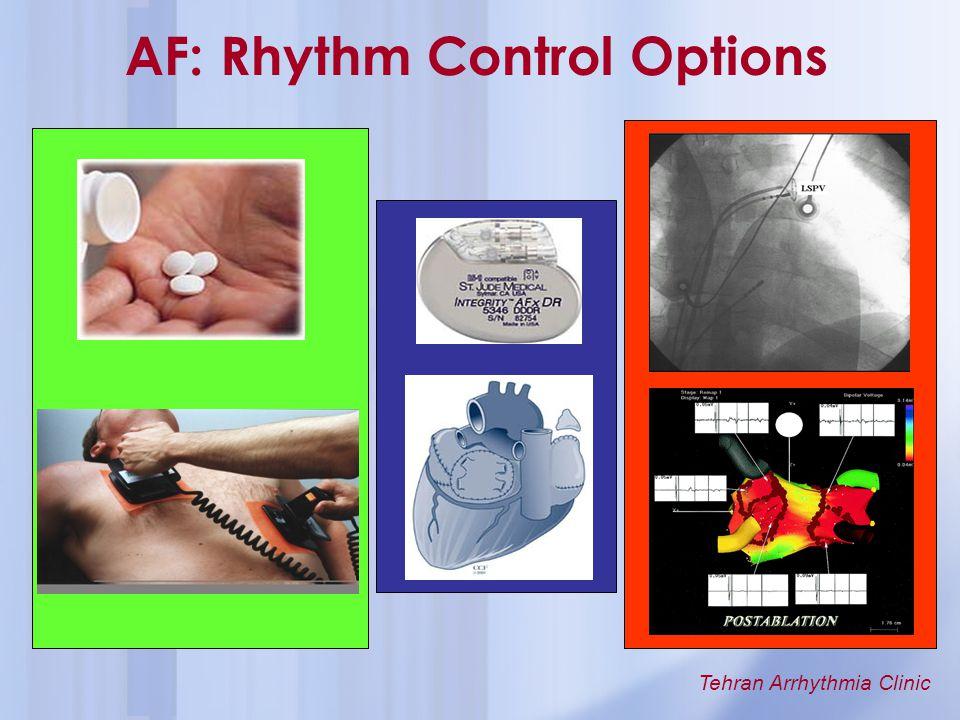 AF: Rhythm Control Options
