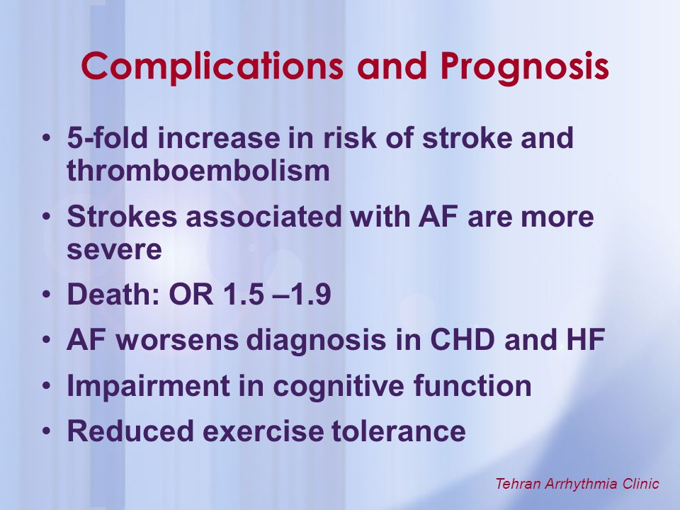 Complications and Prognosis