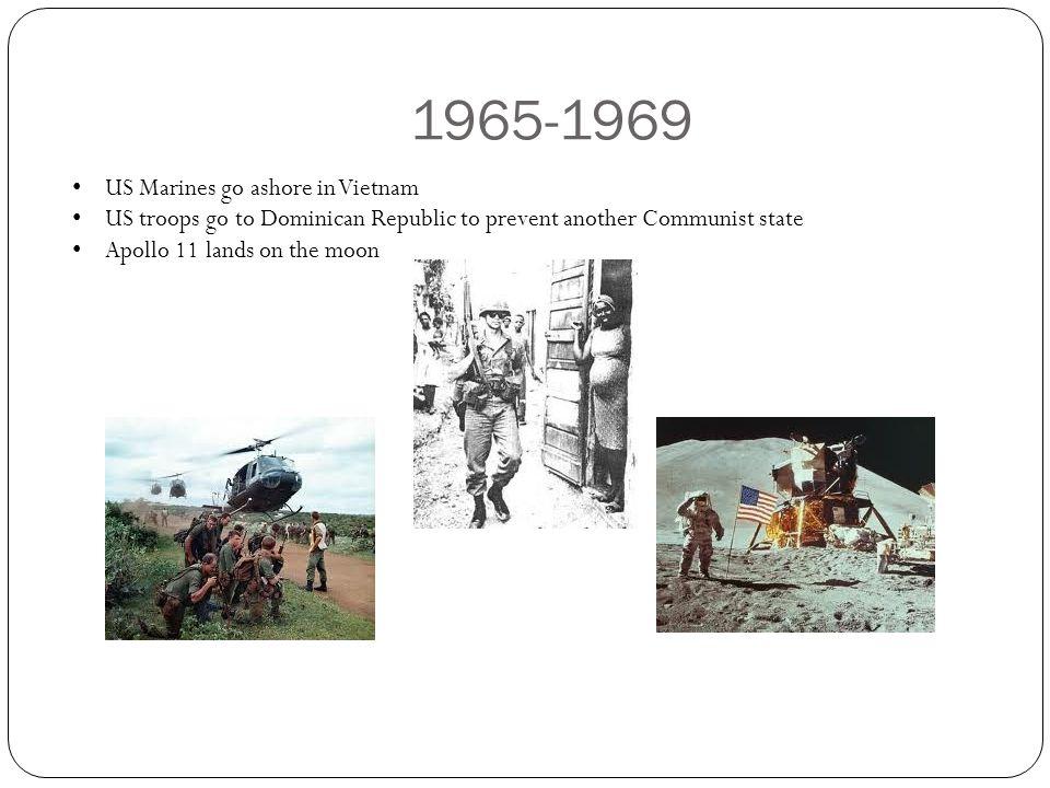 1965-1969 US Marines go ashore in Vietnam