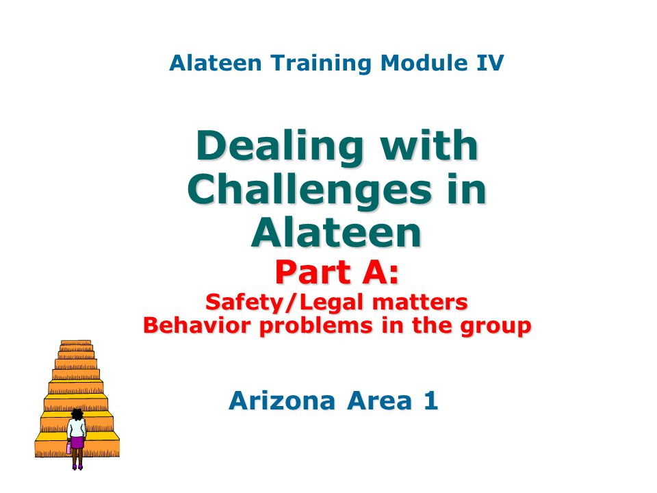 Alateen Training Module IV