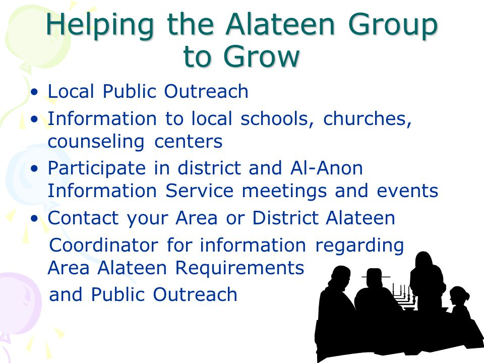 Helping the Alateen Group to Grow