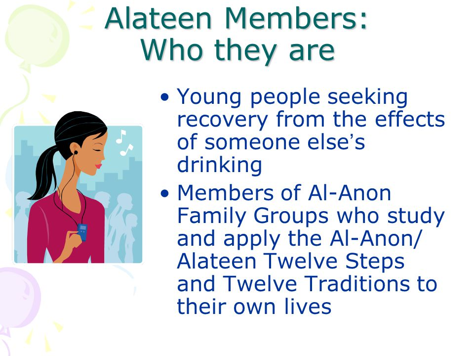 Alateen Members: Who they are