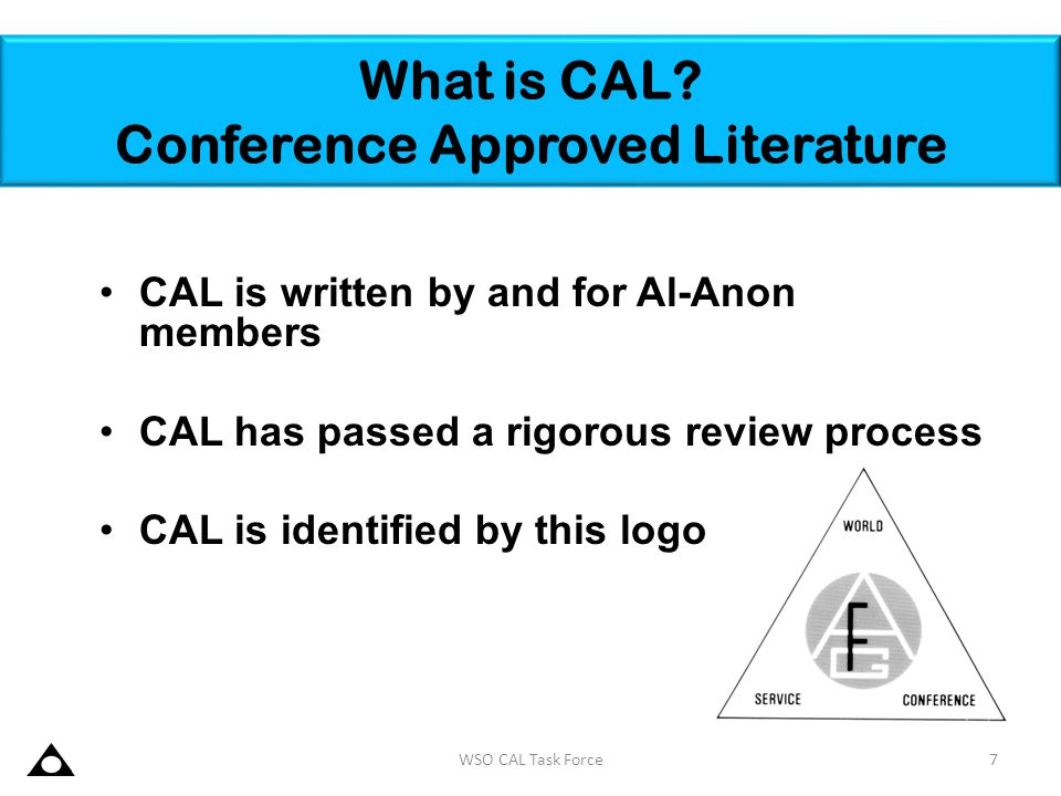 What is CAL Conference Approved Literature