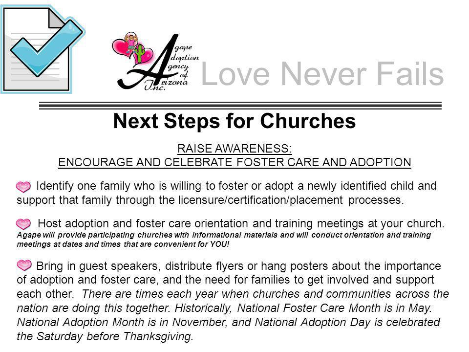 Next Steps for Churches