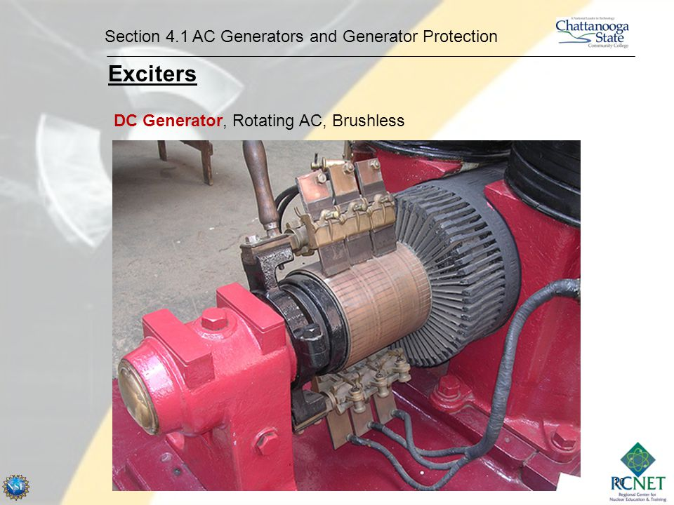 Exciters Section 4.1 AC Generators and Generator Protection