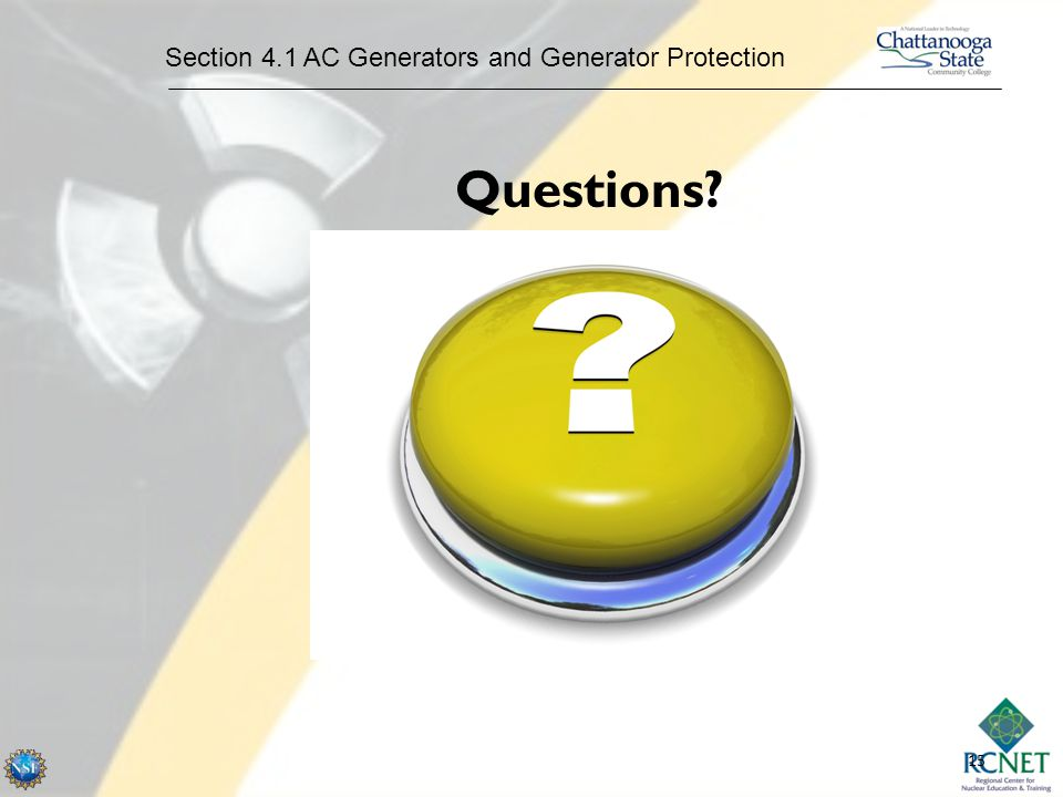Section 4.1 AC Generators and Generator Protection