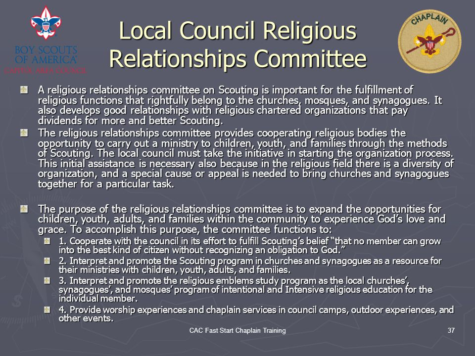 Local Council Religious Relationships Committee