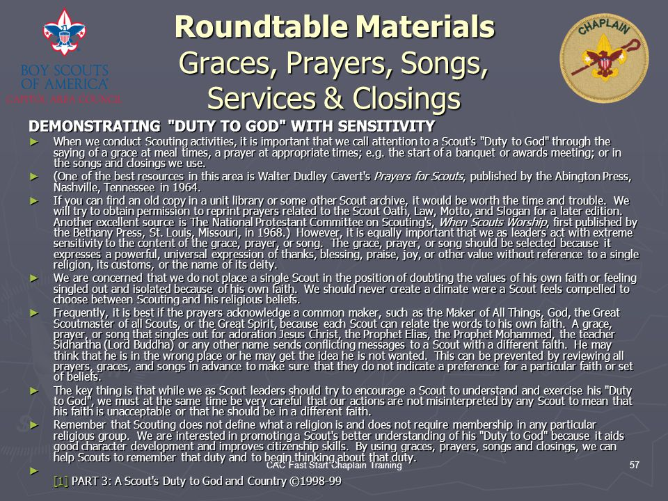 Roundtable Materials Graces, Prayers, Songs, Services & Closings