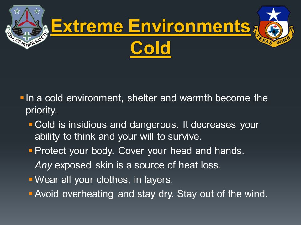 Extreme Environments Cold