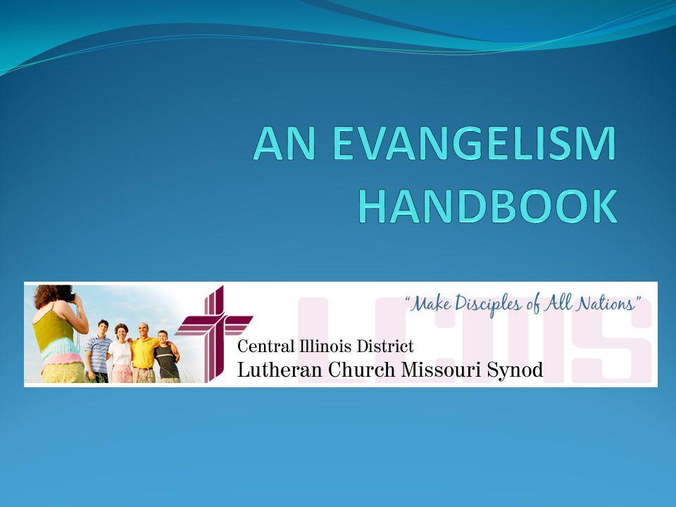 AN EVANGELISM HANDBOOK