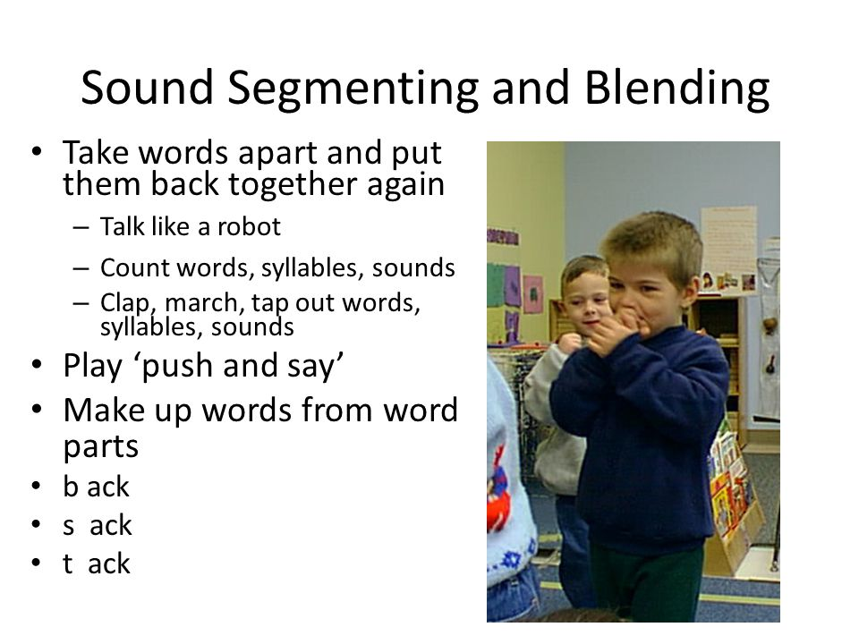 Sound Segmenting and Blending