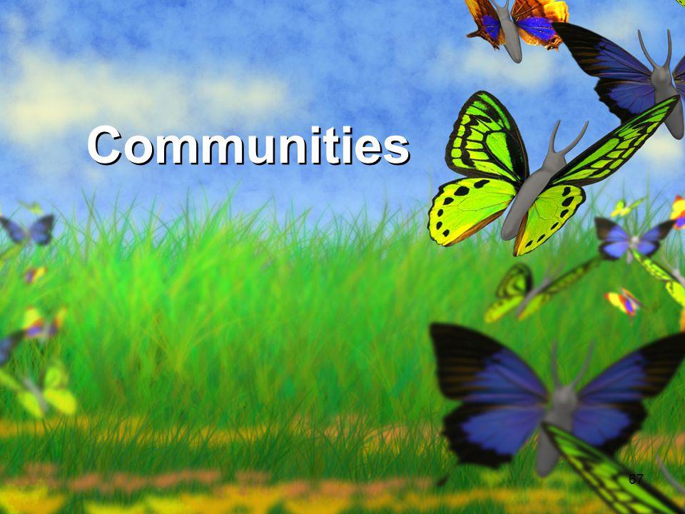 Communities